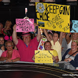 OIC - ENTSIMAGES.COM - Chloe Wilburn supporters at the  Big Brother live final at Elstree Studios UK 16th July 2015 Photo Mobis Photos/OIC 0203 174 1069