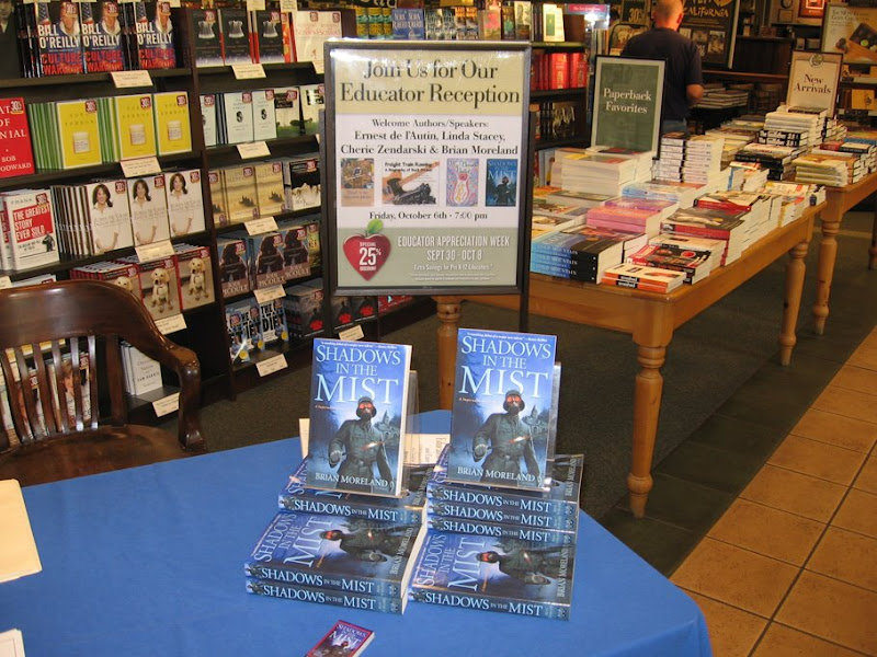 Brian Moreland Author In Bakersfield, Brian Moreland