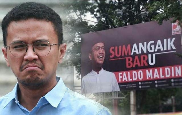 Ambyar, Faldo Maldini Gagal Calonkan Diri Jadi Gubernur Sumbar