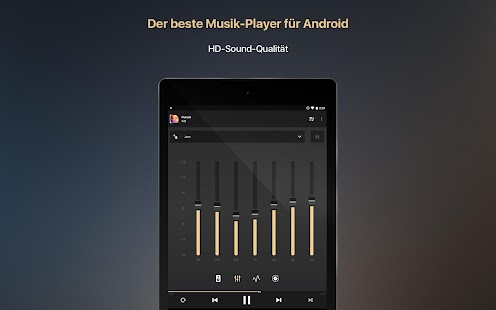 Equalizer + MP3 Player Volume Screenshot