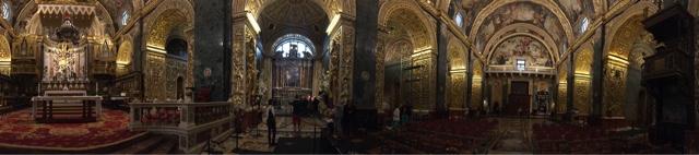 Valletta, ancient city, Malta, St. John's cathedral