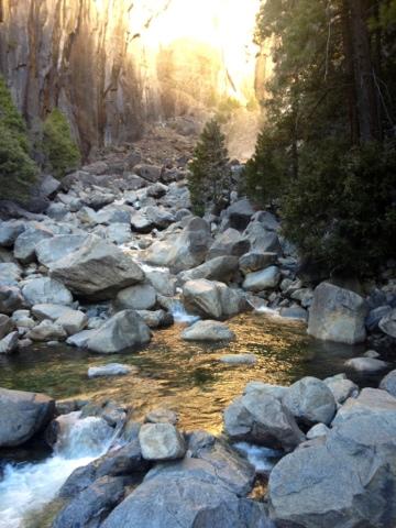ahwahnee yosemite stream