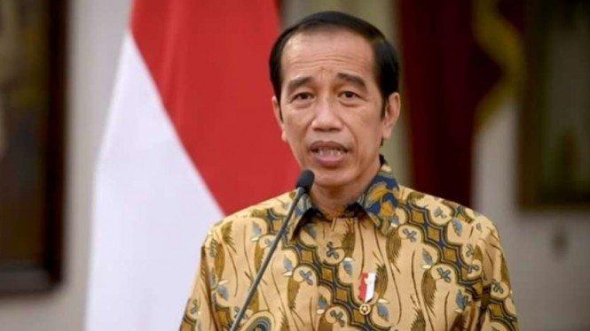 Jokowi Klaim Data COVID-19 Membaik, PPKM Level 4 untuk Berhati-hati