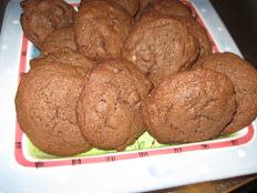 Chocolate Chocolate Chip Cookies  Dozen (12)