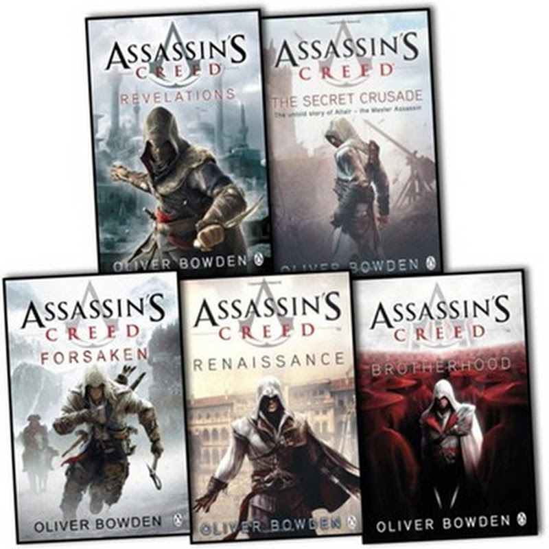 Assassin's Creed Complete Series 1-8 PDF Books Free Download