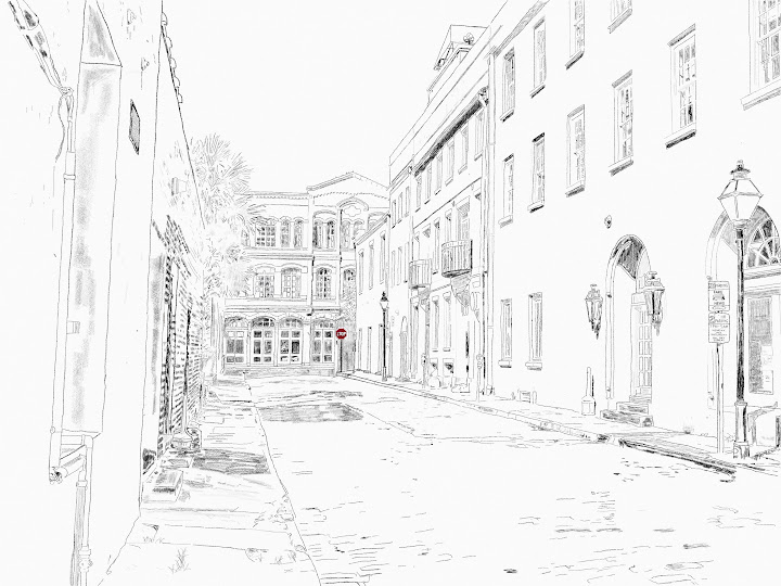 Charleston SC made with Sketches