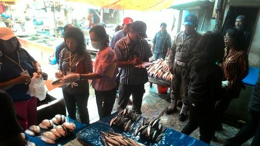Sidak di Pasar Makale, Tim Gabungan Sita 25,5 Kg Ikan Berformalin