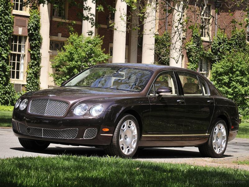 2008 bentley continental flying spur sedan specifications pictures prices. Black Bedroom Furniture Sets. Home Design Ideas