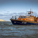 Poole's Tyne class lifeboat.  Photo credit: Andy Lyons, Swanage RNLI