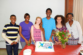 2012 Confirmands with their cake