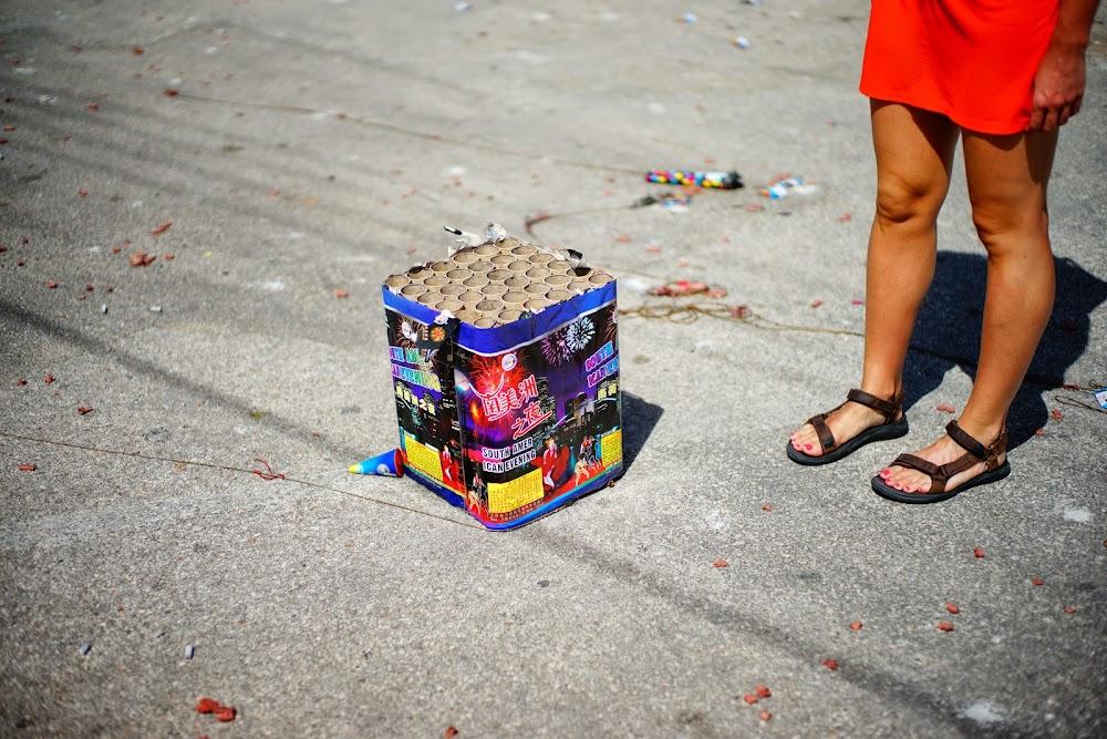 aruba fireworks