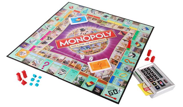 Cờ tỷ phú vòng quanh thế giới Monopoly Here and Now