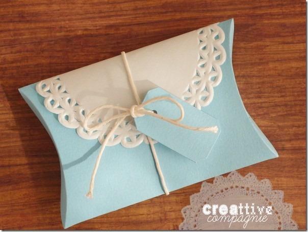 Scatoline shabby chic portaconfetti e bomboniere fai da te per Battesimo Comunione Matrimonio