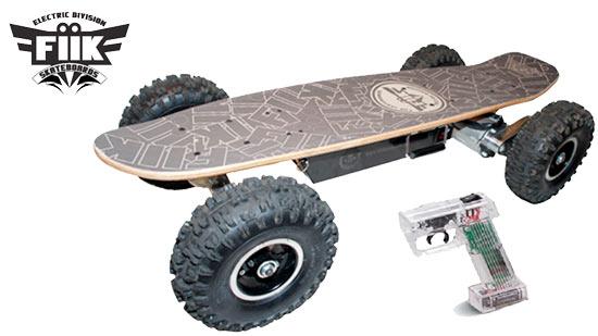 Fiik A Motorized Skateboard Gadgetonix
