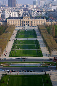 L'Ecole Militaire, from the Eiffel Tower