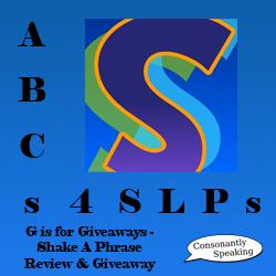 ABCs 4 SLPs Shake-A-Phrase