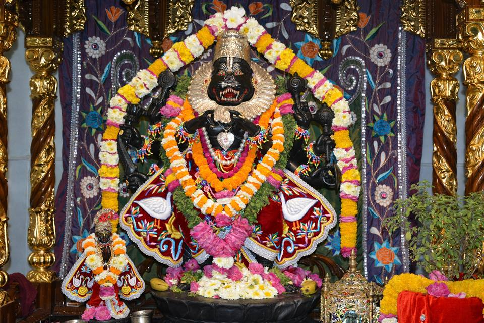 ISKCON Ujjain Deity Darshan 04 April 2016  (19)