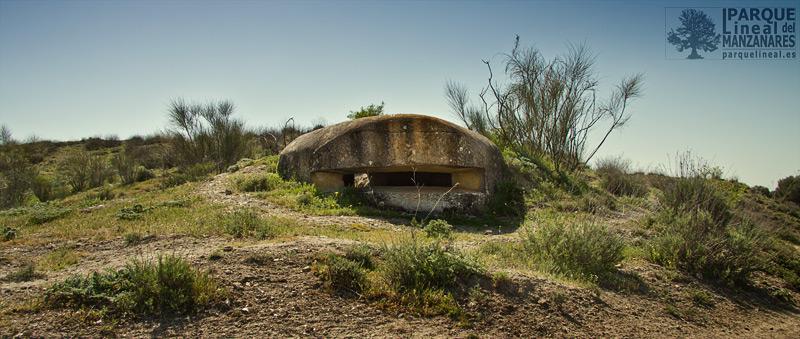 bunker batalla del jarama, cabeza fuerte