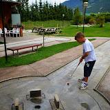Kinder - Minigolfen am 26.08.13