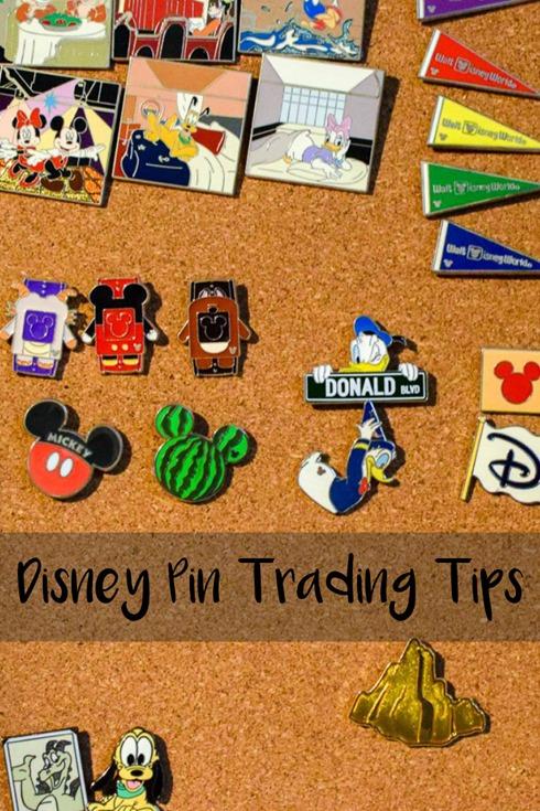 Disney Pin Trading Tips