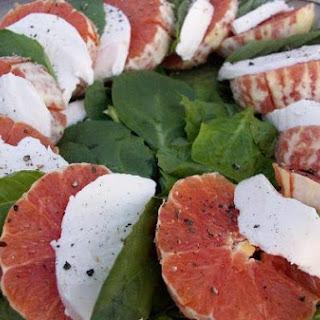 Orange Caprese Salad