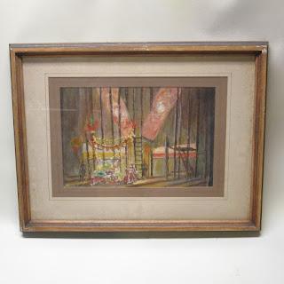 Jim Newton Signed Painting