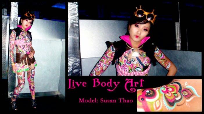 Live Body Art   Mn Artists