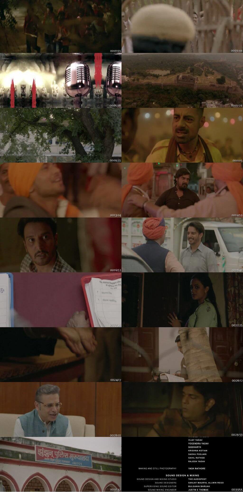 Screen Shot Of Oru Nalla Naal Paathu Solren 2018 300MB Full Movie Hindi Dubbed Free Download 720P HDRip HEVC