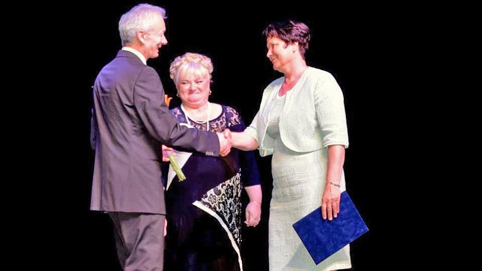 A pedagógus nap alkalmából Ormai Istvánnét kitüntették