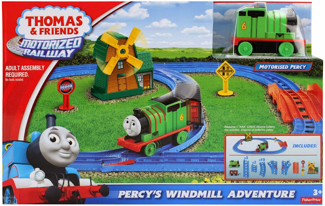 Sản phẩm Thomas & Friends Motorized Railway Percy's Windmill Adventure Fisher Price BGL97
