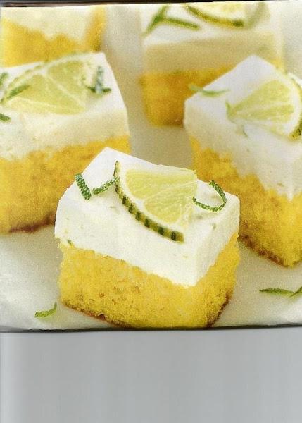 Margarita Cheesecake Bars Recipe