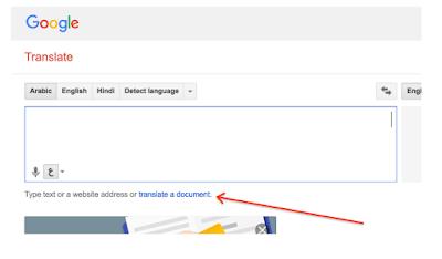 Google translate pdf too large