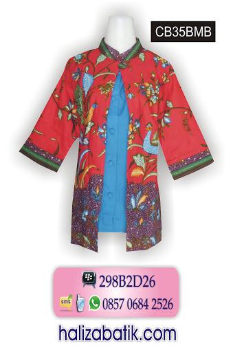 CB35BMB Model Batik Wanita, Contoh Baju Batik, Jual Batik Murah, CB35BMB