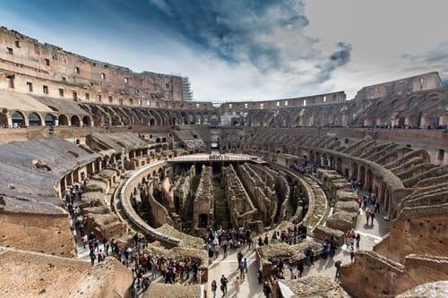 Coliseum interior