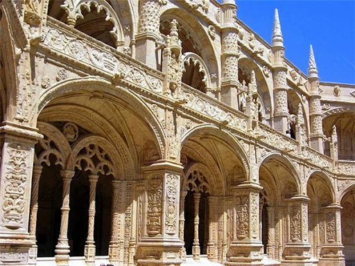 Монастырь Душ Жеронимуш Лиссабон фото