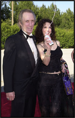 Дэвид Кэррадайн с женой Мариной Андерсен