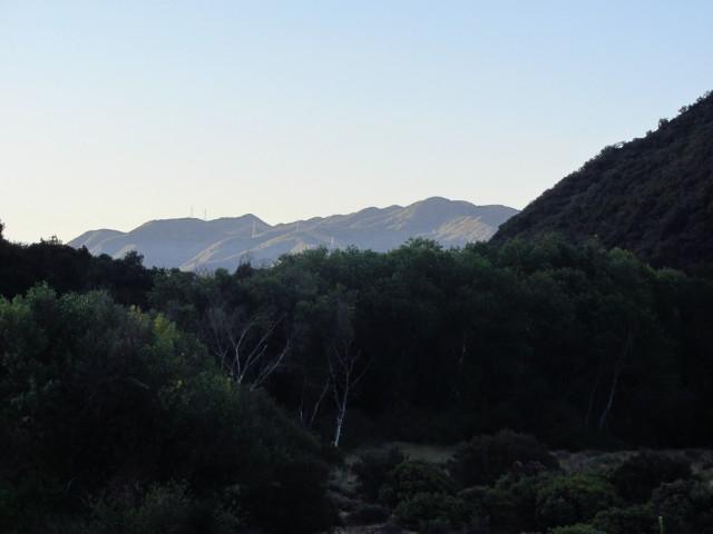 canyon as backdrop of canyon