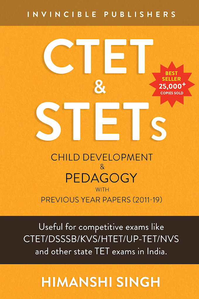 CTET & STETs Paper 1 and Paper 2 both: Child Development and Pedagogy with Previous Year Papers 2011-19 - Amazon.in