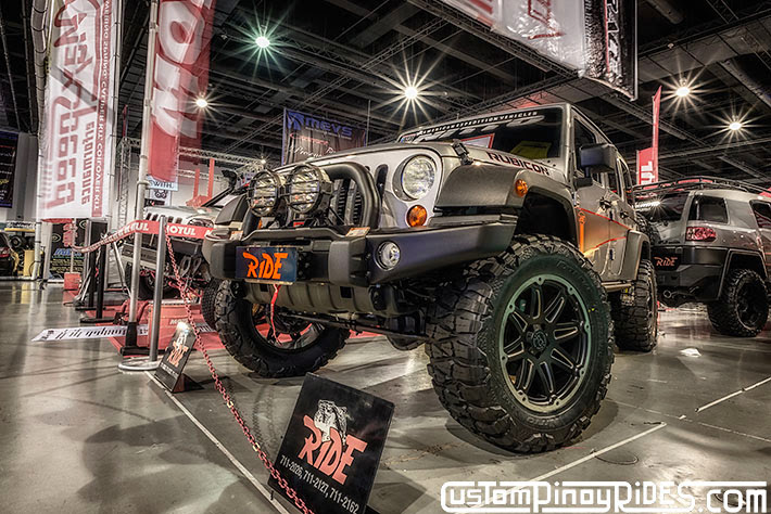Some of the Best Modified 4x4s of 2013 Manila Auto Salon Custom Pinoy Rides Car Photography Philippines Philip Aragones Wrangler Rubicon1
