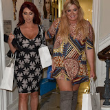 OIC - ENTSIMAGES.COM - Amy Childs and Gemma Collins at the  Launch of Dawn Ward as the face of new brand 3D SkinMed London 16th September 2015 Photo Mobis Photos/OIC 0203 174 1069