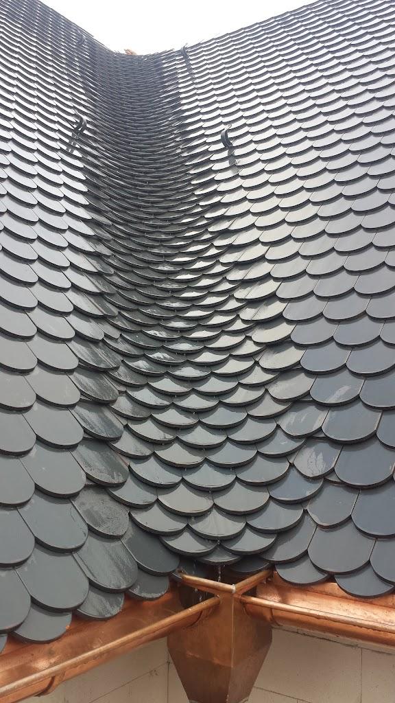 Metall Ziegel Verlegen : dach blech ziegel m ngel dach wasser eiszapfen im unterdach gebrochene dachziegel aus blech ~ Whattoseeinmadrid.com Haus und Dekorationen