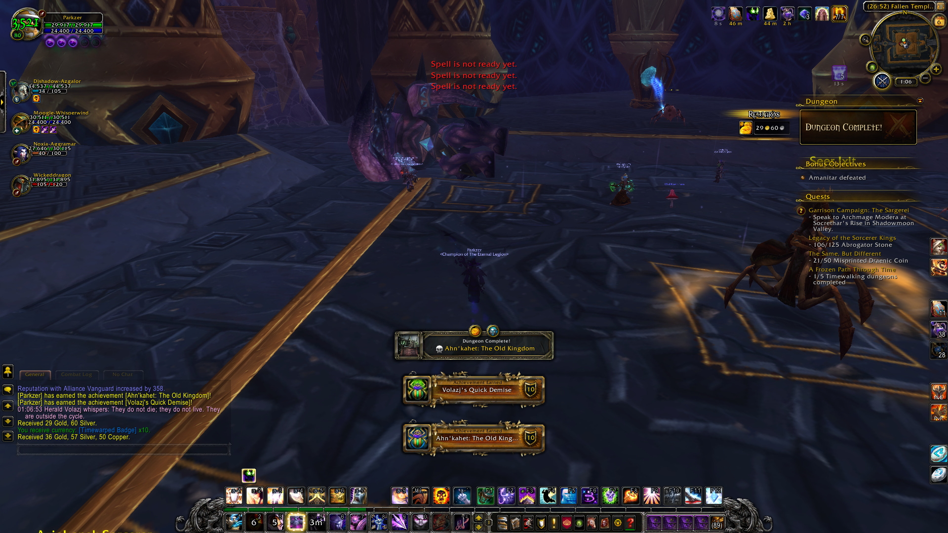 World of warcraft parkzer levels over 730 are queueing up for timewalking dungeons to finish the weekly quest the op people who i never see normally in heroic dungeon queues malvernweather Gallery