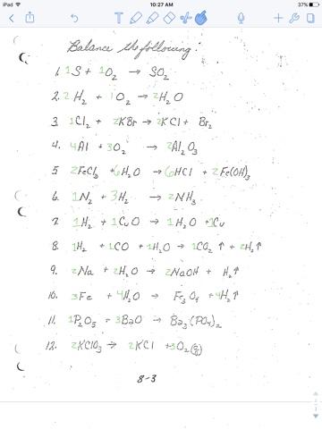 Haleys Chemistry Blog Balancing Equations Worksheet