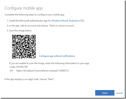 Using multiple authenticator apps with a single Microsoft