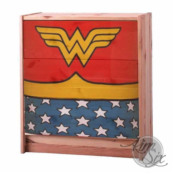 Wonder Woman Dresser Mock UP