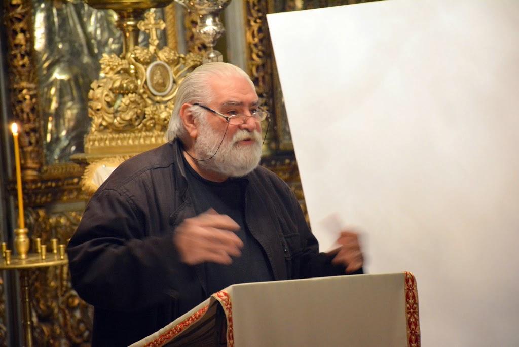 Sorin Dumitrescu la Sf. Silvestru despre Inviere 012