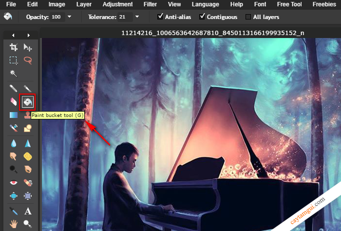 Photoshop Online - Ứng dụng chỉnh sữa ảnh trực tuyến chuyên nghiệp