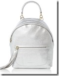 Cochinelle Silver Tassel Backpack