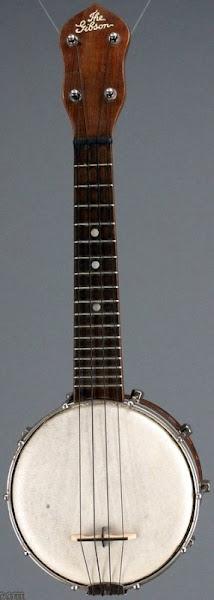 1920's Gibson UB1 Soprano Banjolele