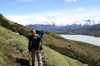 Joshua on Backside of Circuit Hike (Torres Del Paine, Chile)